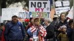 EEUU: miles protestaron contra Trump a un mes del inicio de su gestión - Noticias de donald trump